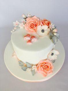 Svadobná torta, wedding cakes, Autorka: Layla A, Tortyodmamy.sk