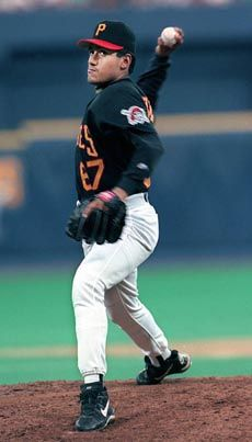 Francisco Cordova - pitched combined no hitter with Ricardo Rincon on July 12, 1997