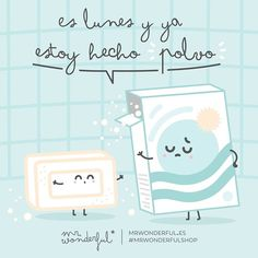 ¡Venga que aquí no hay excusa que valga! ¡Ánimo! It is Monday and I am exhausted. Come on, no excuses now! Chin up! #mrwonderfulshop #quotes #monday