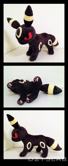 Umbreon plush by d215lab.deviantart.com on @deviantART