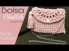 Bolsa de Crochê Clutch - Bolsa Carteira - YouTube