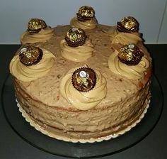 Baileys ferrero rocher cake
