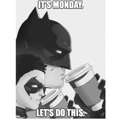in lieu of batman vs superman... Monday i'm ready for ya.  let's get it!!!  by casmanwhat