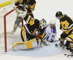 April 13, 2016 — Eastern Conference playoffs: Penguins 5, Rangers 2 (Photo: Philip G. Pavely  |  Tribune-Review)