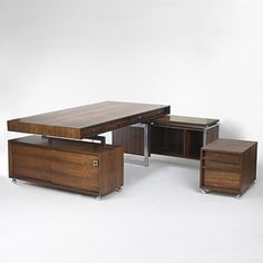Bodil Kjaer, Executive Desk Suite, c1960.