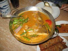 Singapore Fish Head Curry ~ Singapore Food   Recipes
