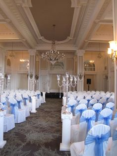 """I can see this as a  wonderful set up for the wedding ceremony.  #CaterToYouIncorporated,LLC.  www.catertoyouincorporatedllc.webs.com (A bouquet for a """"cornflower blue"""" wedding)"""