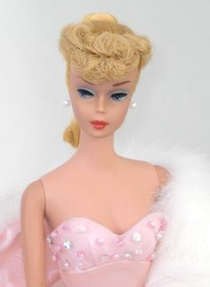 She looks ike mine :-) Ponytail Barbie 1963 Vintage Play Barbie, Barbie I, Vintage Barbie Dolls, Barbie World, Barbie And Ken, Barbie Style, Beautiful Dolls, Beautiful Life, Little Doll