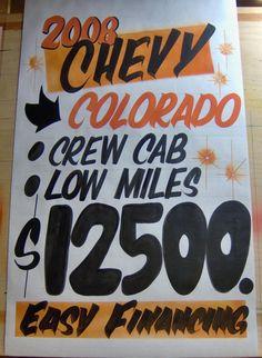 Paper signs by www.daytonacme.com