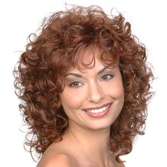 what is a stacked spiral perm Spiral Perm Short Hair, Loose Spiral Perm, Short Permed Hair, Curly Hair Cuts, Curly Hair Styles, Loose Perm, Medium Permed Hairstyles, Spiral Perms, Layered Hairstyles