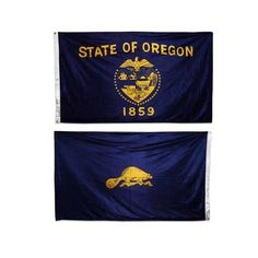 Oregon flag 3 x 5 feet Double-Sided polyester by US Flag Store. Save 28 Off!. $15.95. Made Outside of the US. Durable Polyester Flag with 2 Grommets for Outdoor Flagpole Use. Low Cost Shipping Available. Superknit Polyester Often Lasts as Long as Nylon. Printed Polyester Flag. Durable Oregon flag size 3ft x 5ft printed on a high tech silky looking knitted polyester fabric. Compares in quality and durability to more expensive nylon flags and not the cheap polyester flags sol...
