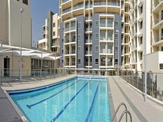 Scarborough Beach Apartments, #Perth, #Australia.  We love our urban colour range of letterboxes!  Beige and Charcoal are popular for the latest apartments and house styles!