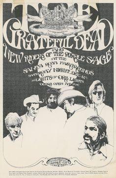 Grateful Dead and New Riders of the Purple Sage / Hananda presents / Lights by Orb Lights / Santa Rosa Fairgrounds, December 12, [1970]