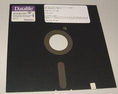 "5.25"" floppy disk ... anybody else remember these?"