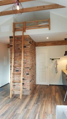 Old chimney bricks used to build a wall in Kuressaare Family and Garden apartments, Estonia. Build A Wall, Bricks, Apartments, Interior Design, Building, Garden, House, Furniture, Home Decor