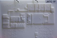 Using a high-tech 3-D printer, a Rutgers undergraduate and his professor created sophisticated braille maps to help blind and visually impaired people navigate a local training center.