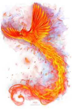 Animal Fire Phoenix Design Idea - Custom Animal Fire Phoenix Pictures on T Shirts and Phone Cases at HICustom.net
