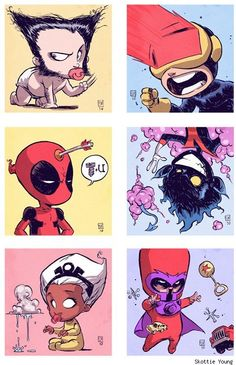 Baby X-Men by Skottie Young