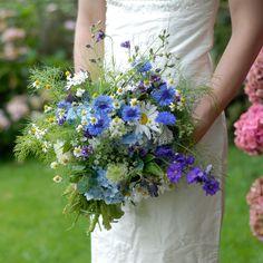 ATLANTIC-BLUE- wildflower arrangement UK