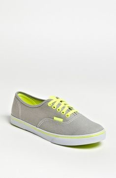 Vans 'Authentic Lo Pro - Neon' Sneaker (Women) available at Cute Vans, Cute Shoes, Me Too Shoes, Tennis Shoes Outfit, Vans Shoes, Neon Sneakers, Neon Vans, Vans Authentic Lo Pro, Vanz