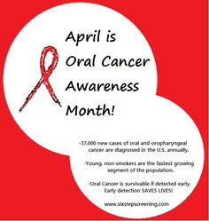 1000 Images About Oral Cancer Awareness On Pinterest