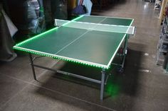 LED Ping Pong Table available for corporate events.