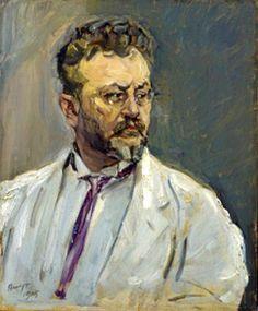 Max Slevogt, Selbstbildnis von 1915.