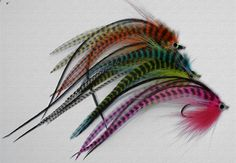 Heres a few flies I tied for both Pike and Saltwater fishing.