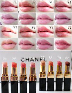 chanel rouge coco shine... Sheer Lipstick, Chanel Lipstick, Chanel Makeup, Lip Makeup, Makeup Cosmetics, Lipstick Colors, Lip Colors, Chanel Rouge Coco Shine, Nyx Lip