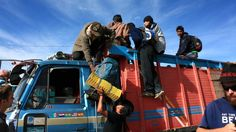Packing in the Camion, Bolivia