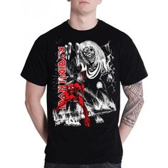 Tricou Iron Maiden: The Number Of The Beast - MetalHead Merch Number Of The Beast, Iron Maiden, Rock Music, Toys, Mens Tops, T Shirt, Clothes, Activity Toys, Supreme T Shirt