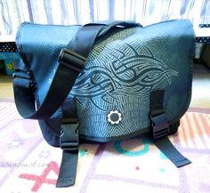 Maori Night DadGear messenger diaper bag for guys