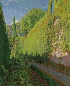 Garden of Sa Coma, Santiago Rusiñol