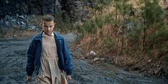 Imagen de eleven, gif, and stranger things