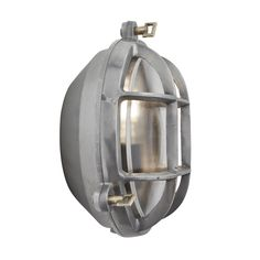 Bulkhead Round Wall Light / Flush Mount - 8 Inch - Gunmetal Industrial Lighting, Industrial Chic, Vintage Industrial, Cascade Lights, Outdoor Bathrooms, Wall Lights, Ceiling Lights, Wall Mounted Light, Patina Finish