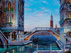 Venice Landscape Cross Stitch Pattern Counted Cross Stitch Chart, Pdf Format, Instant Download /275209 by icrossstitchpattern on Etsy