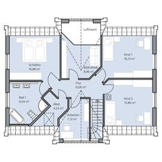 Haus Lange – Dachgeschoss
