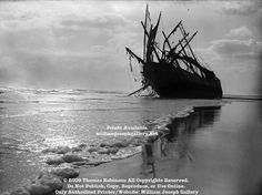 Glenesslin Shipwreck 1916 Neahkahnie Beach Oregon Pacific Coast USA
