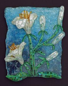 Gorgeous #mosaic idea     #flowers