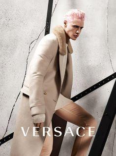 #Versace is proud to debut its FW15/16 ADV campaign. #VersaceMenswear Photography: Mert Alas & Marcus Piggott Art Director: Giovanni Bianco  Hair: Shay Ashual Make Up: Lucia Pieroni Talents: Oliver Stummvoll Stylist: David Bradshaw