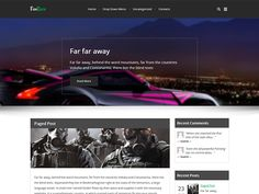 Life is a race in which everyone wants to win, but very few actually achieve that dream. You can be one of the lucky ones by pushing your business or blogs ahead with this free WordPress theme. The design comes with a full-width slider than instantly catches the eye. That is complemented with the post design that makes the premium WordPress theme balanced and easy to amend. You can edit it take the shape of your trade or make it into a personal blog with ease. So, wait no more and get ahead…