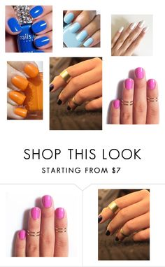 """""""Summer Needs!"""" by favoritethingz ❤ liked on Polyvore featuring Essie"""