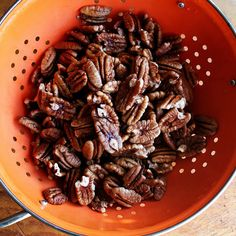 The Best Candied Pecans | alexandra's kitchen