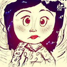Coraline y la puerta secreta :)