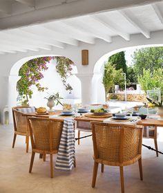 ChicDecó: Una Casa de para veranear en IbizaA casa de verão em Ibiza