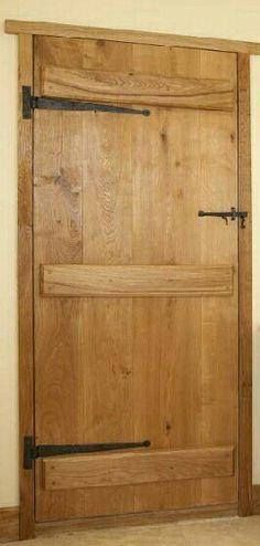 Latch door