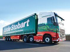 Eddie Stobart Eva Jane - H4013 Eddie Stobart Trucks, Volvo Trucks, Cool Trucks, Plate, Classic, Vehicles, Derby, Dishes, Plates