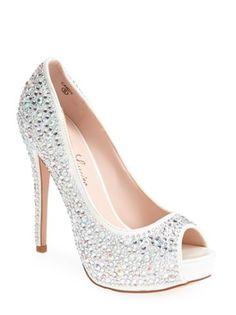 crystal peep toe pumps http://rstyle.me/n/u67cepdpe