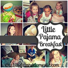 We had a Pajama Summer Breakfast for my littles and their friends. Come check it out and throw one of your own this summer. Super fun!