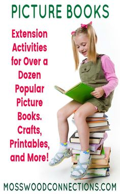 Picture Books Lesson Plans & Extension Activities for Over a Dozen Popular Picture Books